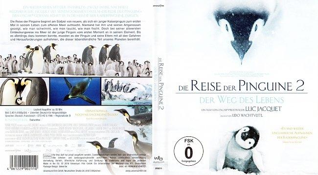 Die Reise der Pinguine 2 Der Weg des Lebens Cover Deutsch German german blu ray cover