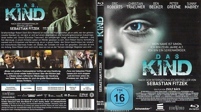 Das Kind Cover Blu ray Sebastian Fitzek german blu ray cover