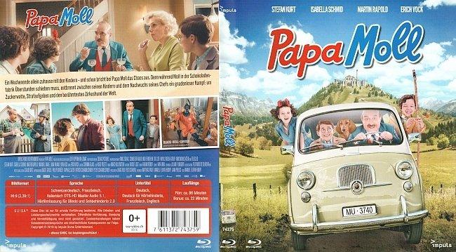 Papa Moll Cover Bluray Deutsch Schweiz german blu ray cover