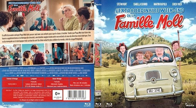 Famille Moll Cover Francais Bluray French german blu ray cover