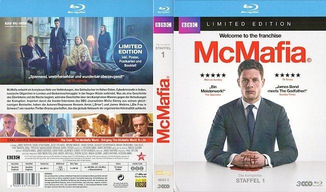 McMafia S1 Staffel 1 Season 1 Cover Deutsch German Bluray german blu ray cover