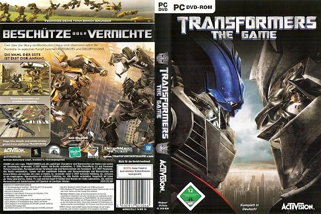 Transformers_The_Game_Cover_PC_DVD_ROM_DEUTSCH_GERMAN pc cover german