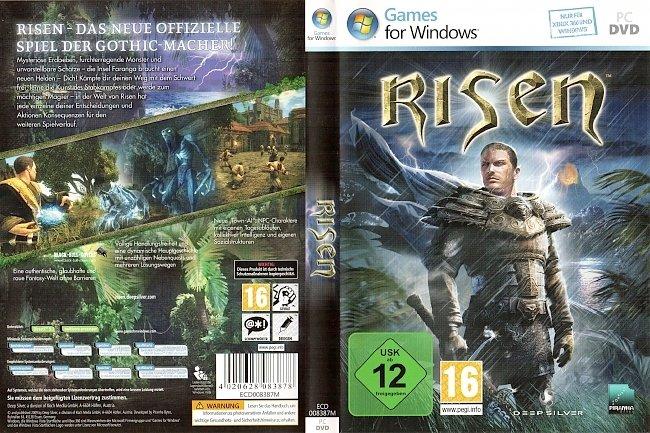 Risen Cover Deutsch Deep Silver German PC DVD pc cover german