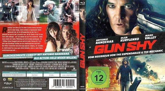 Gun Shy Simon West Antonio Banderas Cover Deutsch German Bluray german blu ray cover