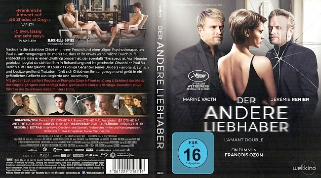 Der andere Liebhaber Cover Deutsch German Blu ray german blu ray cover