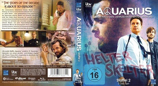 Aquarius Staffel 2 Season 2 S02 Deutsch Cover German Bluray mit FSK16 german blu ray cover