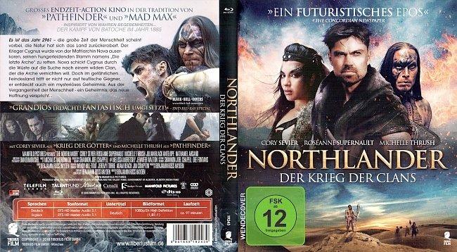 Northlander Der Krieg der Clans Cover Deutsch German Blu ray german blu ray cover