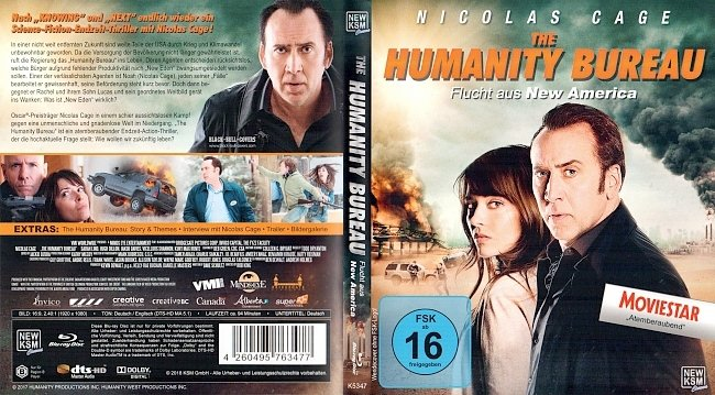 The Humanity Bureau Cover Deutsch German german blu ray cover