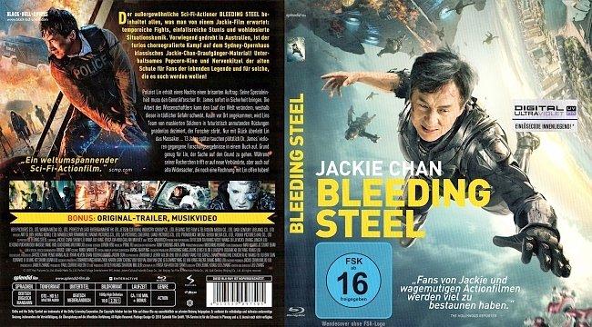 Bleeding Steel Blu ray Cover Deutsch German Jackie Chan german blu ray cover