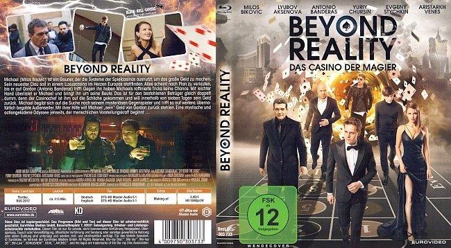 Beyond Reality Das Casino der Magier Cover Deutsch German Bluray german blu ray cover
