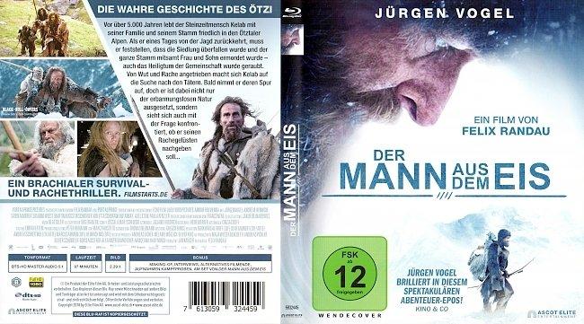 Der Mann aus dem Eis Cover Deutsch German Juergen Vogel german blu ray cover