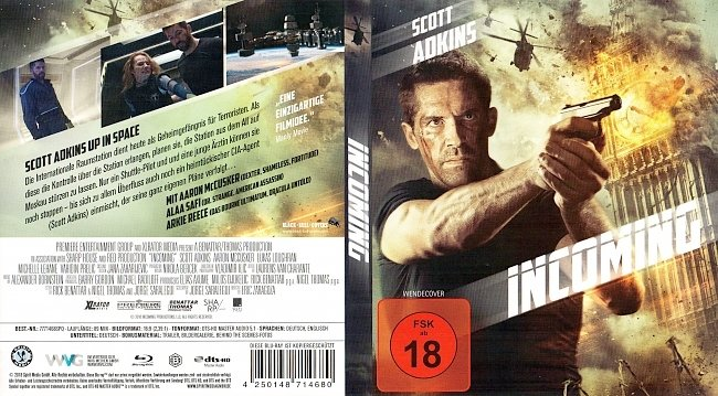 Incoming Blu ray Cover Deutsch German german blu ray cover