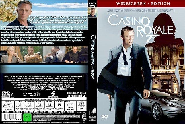 007 James Bond Casino Royale german dvd cover