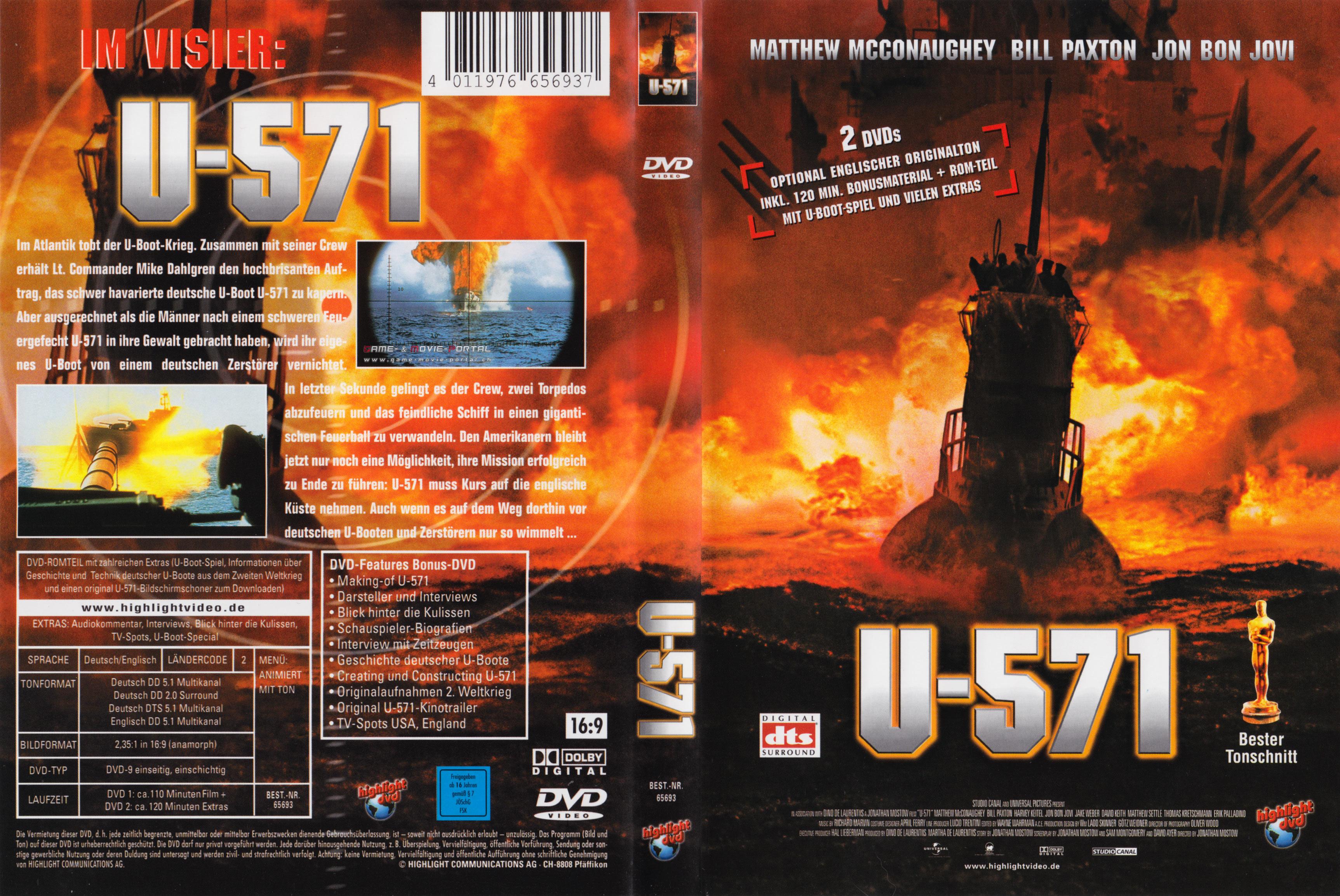 U 571 Deutsch Ganzer Film