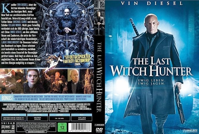 The Last Witch Hunter german dvd cover