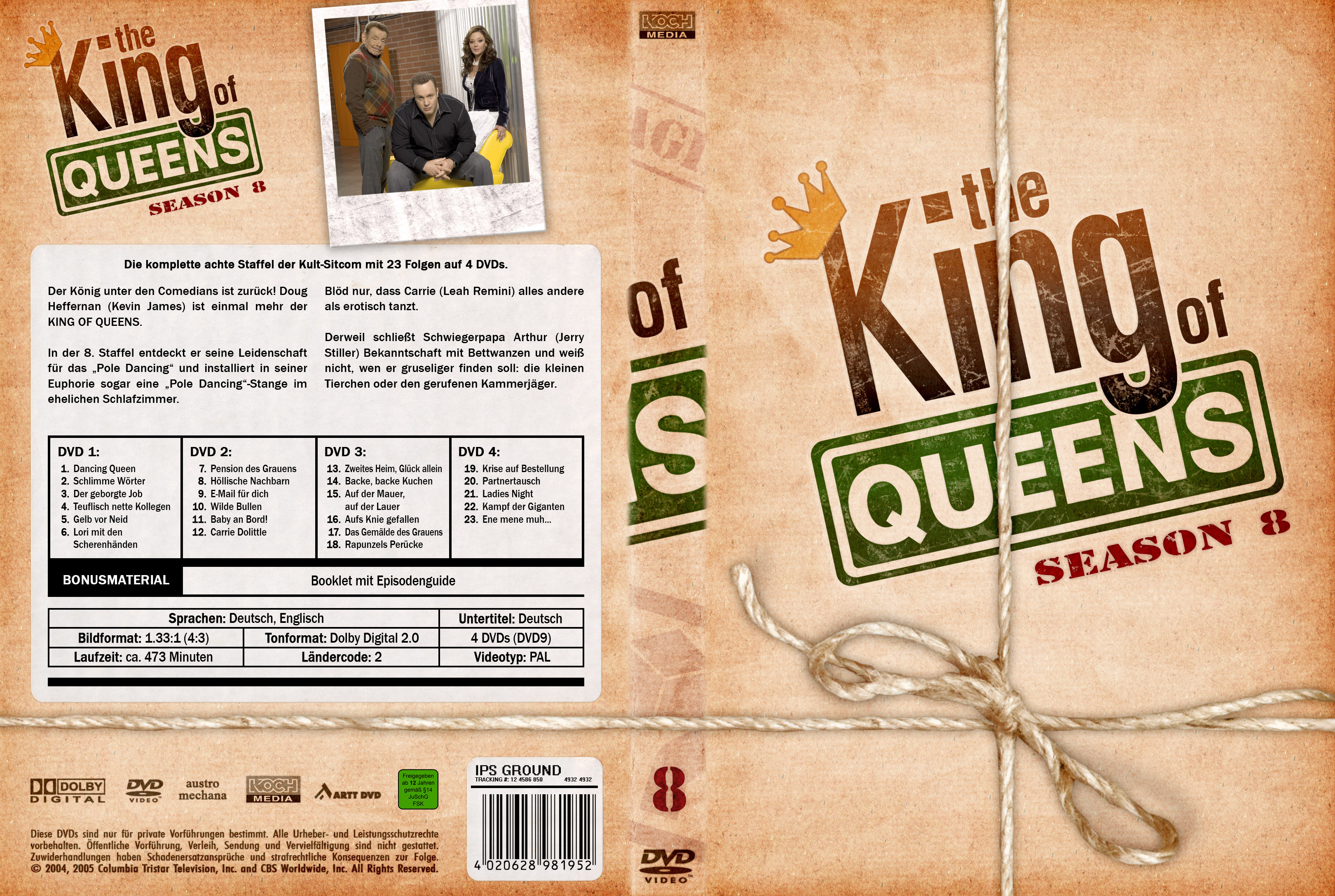 King Of Queens Staffel 8