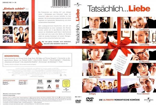 Tatsachlich Liebe dvd cover german