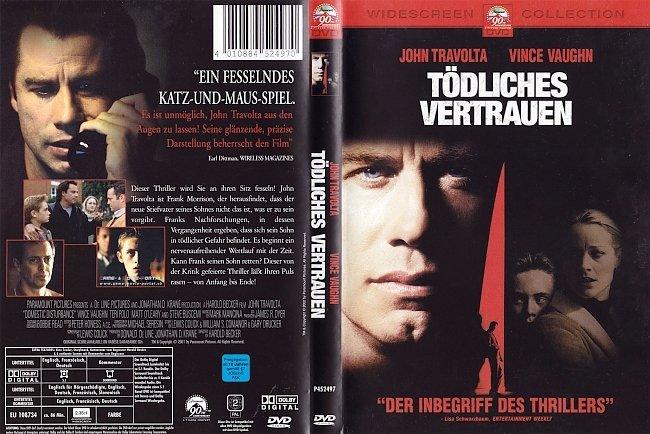 Toedliches Vertrauen John Travolta german dvd cover