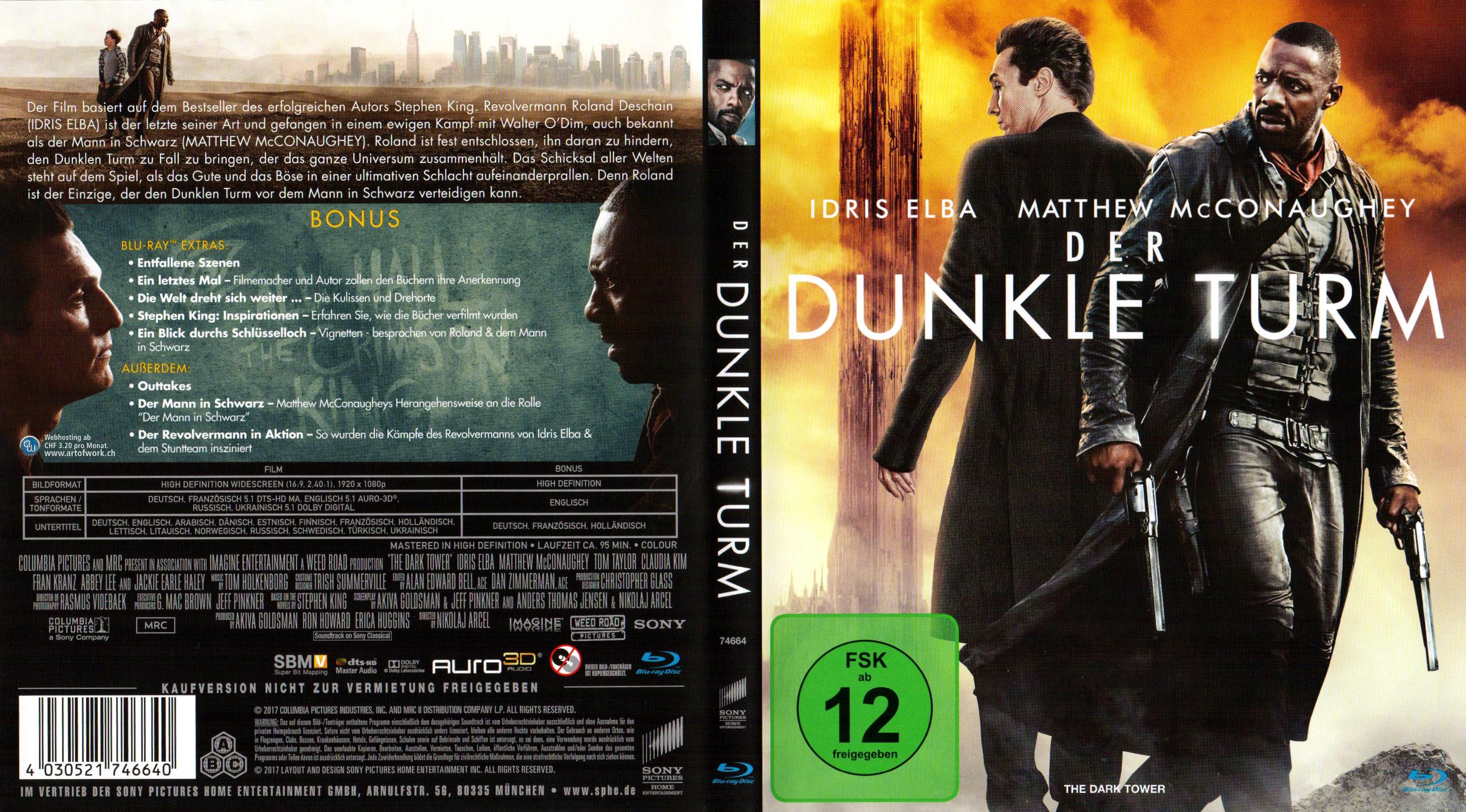 Der Dunkle Turm Stephen King Cover Deutsch German german