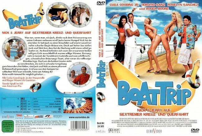 Boat Trip DVD-Cover deutsch