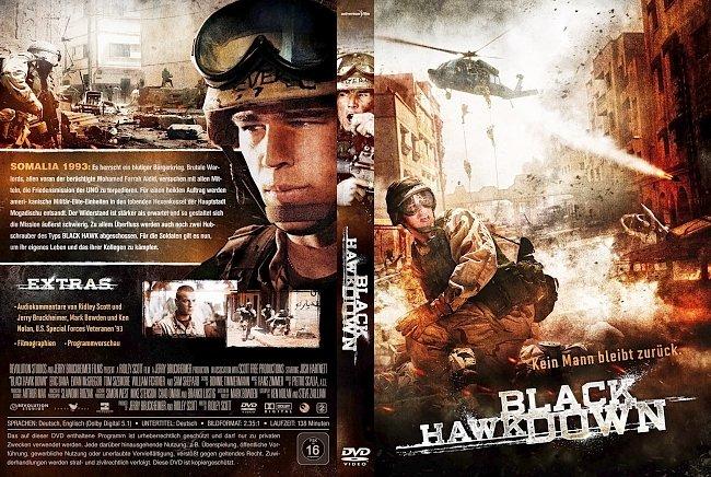 Black Hawk Down DVD-Cover deutsch