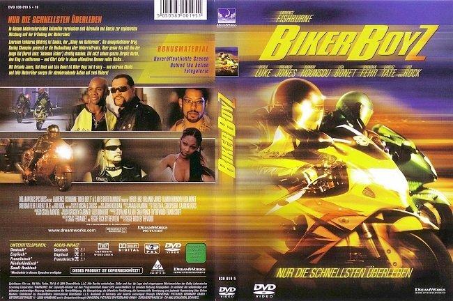 Biker Boyz Cover DVD-Cover deutsch