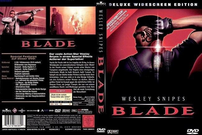 Blade DVD-Cover deutsch