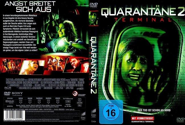 Quarantane 2 Terminal german dvd cover