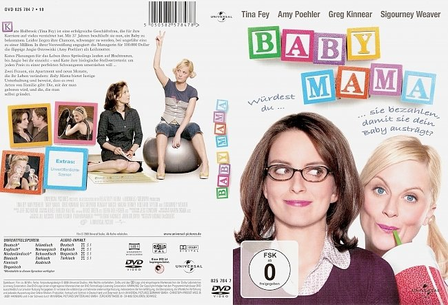 Baby Mama DVD-Cover deutsch