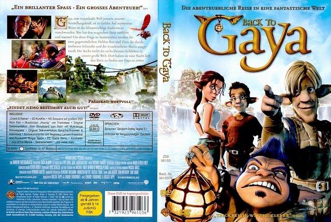Back to Gaya DVD-Cover deutsch