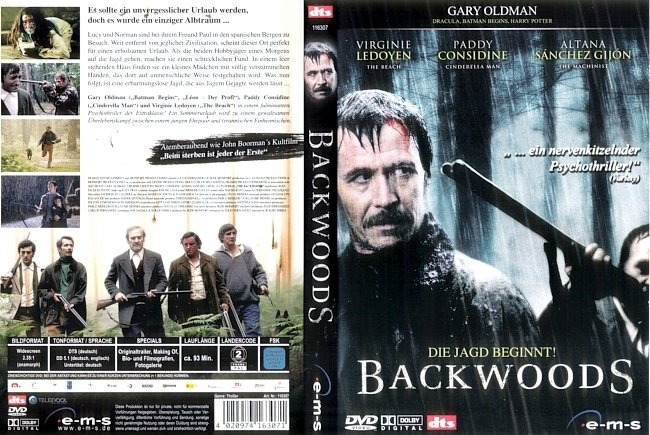 Backwoods DVD-Cover deutsch