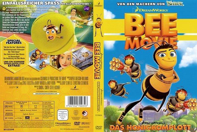 Bee Movie Das Honigkomplott DVD-Cover deutsch
