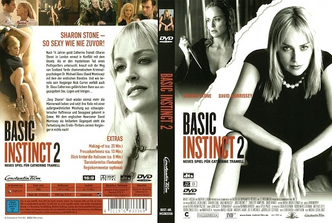 Basic Instinct 2 DVD-Cover deutsch