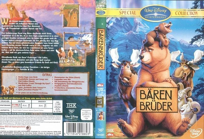 Barenbruder DVD-Cover deutsch