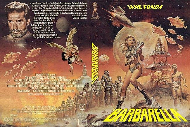 Barbarella DVD-Cover deutsch