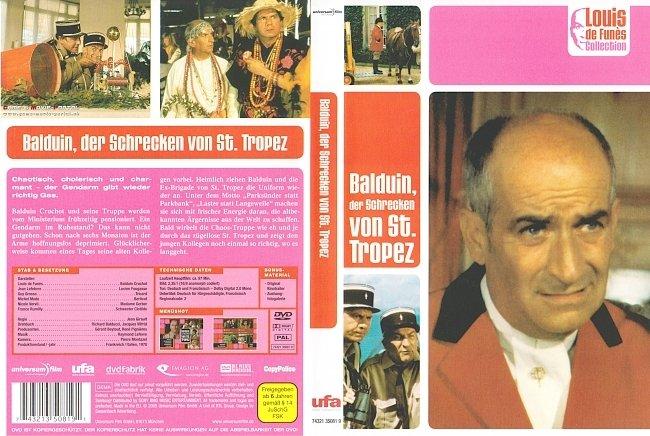 Balduin der Schrecken von Saint Tropez DVD-Cover deutsch