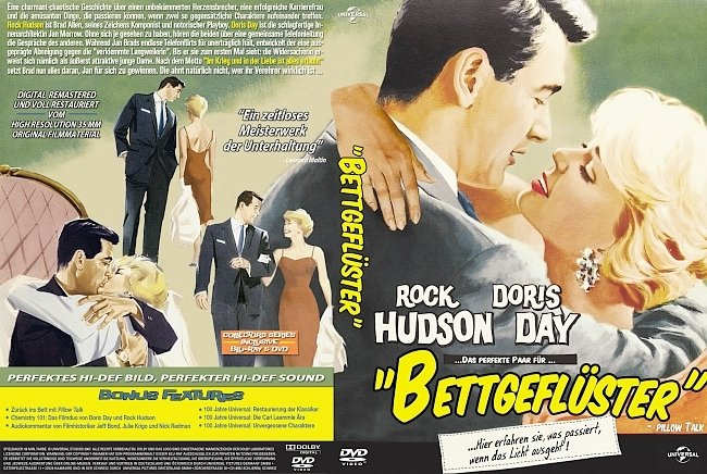 Bettgefluster DVD-Cover deutsch