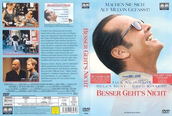 Besser gehts nicht DVD-Cover deutsch