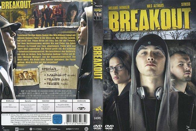Breakout Melanie Winiger Stress DVD-Cover deutsch