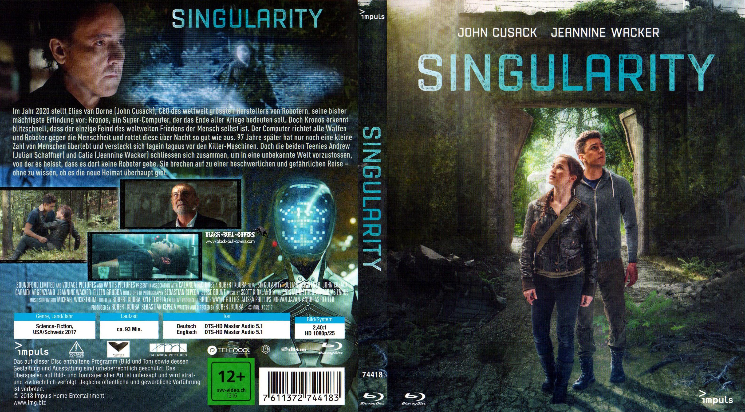 Singularity Film Cover Bluray deutsch german german blu ...