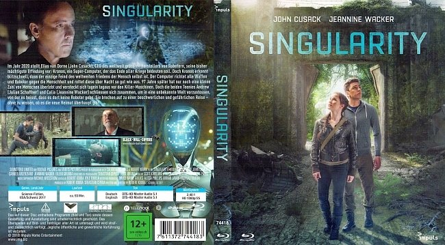 Singularity Film Cover Bluray deutsch german german blu ray cover