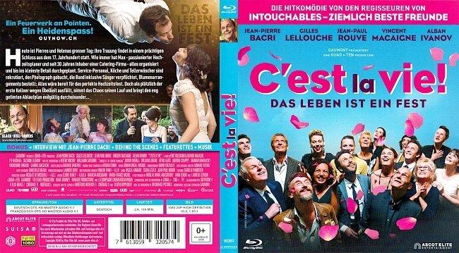 Cest la Vie Das Leben ist ein Fest Cover Blu ray Deutsch French Francais german blu ray cover
