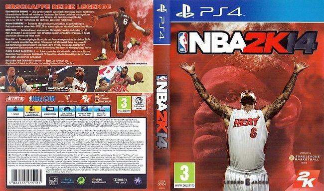 NBA 2K14 Basketball Cover Game PS4 German Deutsch german ps4 cover