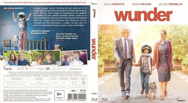 Wunder Cover German Deutsch Julia Roberts Owen Wilson german blu ray cover