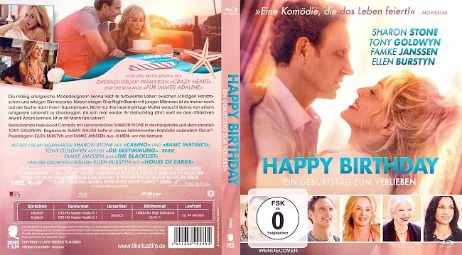 Happy Birthday Ein Geburtstag zum Verlieben Cover German Deutsch Bluray german blu ray cover