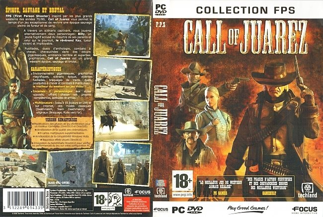 Call of Juarez Francais French Cover Jeu Video pc cover german