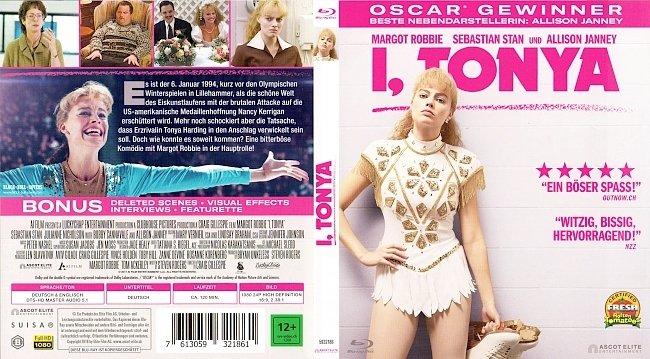 I Tonya Cover Film German Deutsch Bluray german blu ray cover