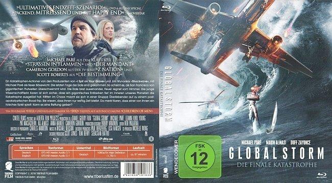 Globalstorm Cover Deutsch German Die finale Katastrophe Tiberius Film german blu ray cover