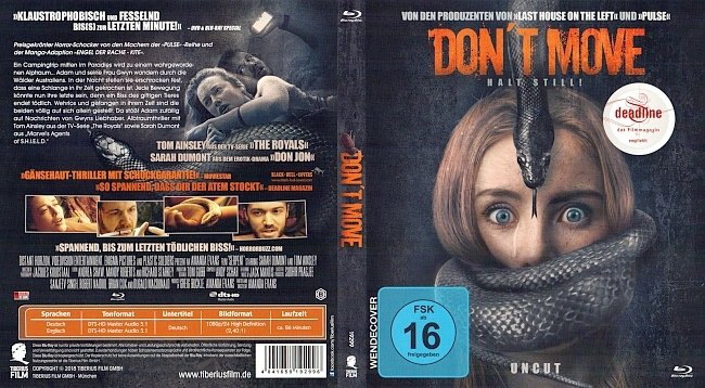 Dont Move Halt Still Cover Deutsch German german blu ray cover