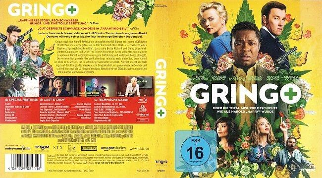 Gringo Cover Deutsch German german blu ray cover